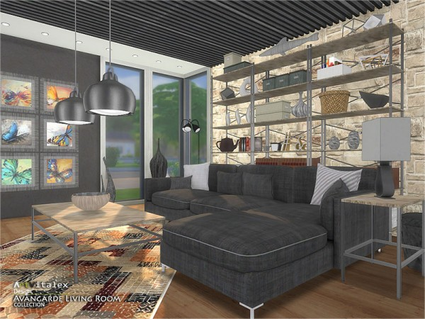The Sims Resource: Avangarde Livingroom by ArtVitalex