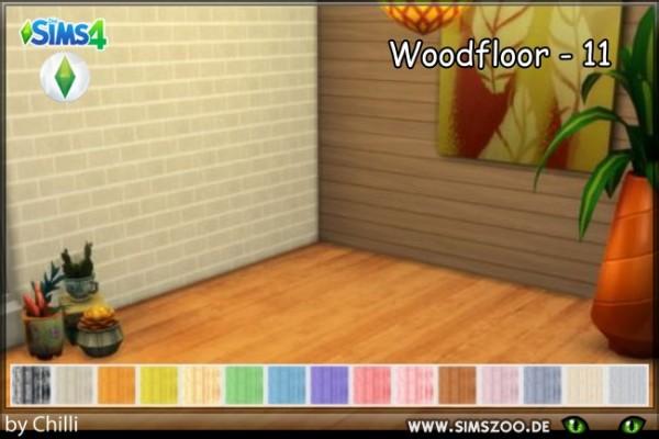 Blackys Sims 4 Zoo: Woodfloor 11 by Schnattchen