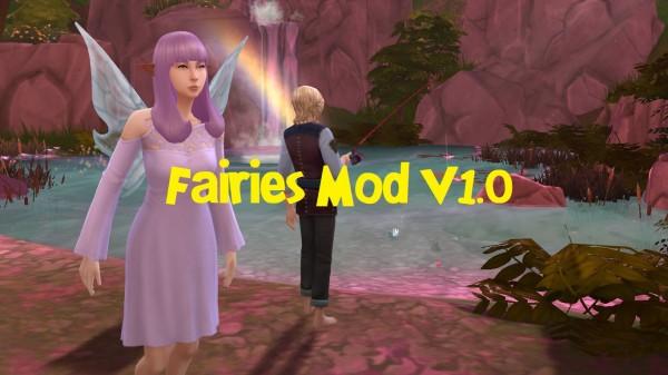 Mod The Sims: Fairies Mod V1 by Nyx