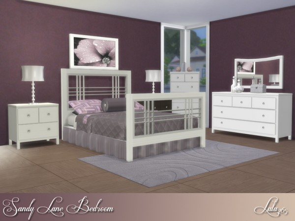 The Sims Resource: Sandy Lane Bedroom by Lulu265