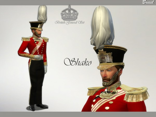The Sims Resource: British General Set by Bruxel