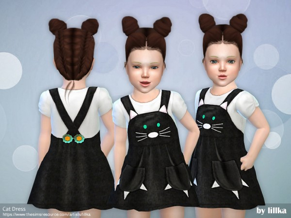 The Sims Resource: Cat Dress by lillka