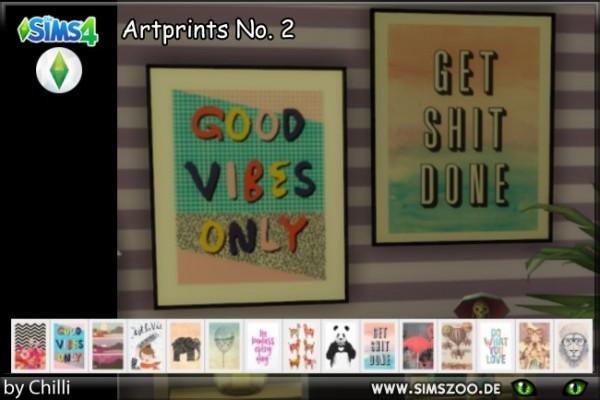 Blackys Sims 4 Zoo: Artprints 2 by Schnattchen