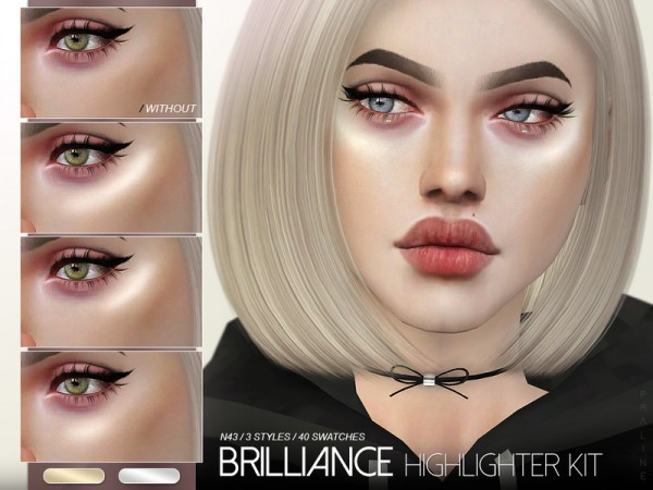 The Sims Resource: Brilliance Highlighter Kit N43 by Pralinesims