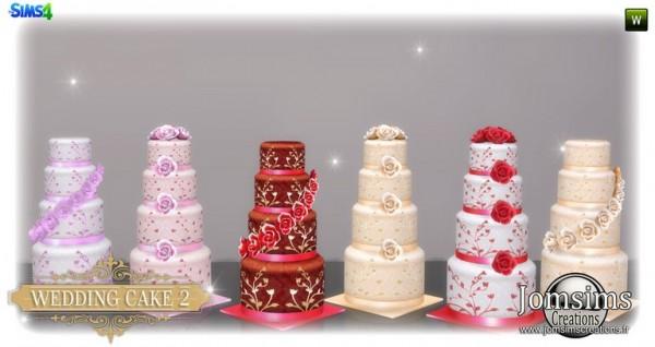 Jom Sims Creations: Wedding cake set 2