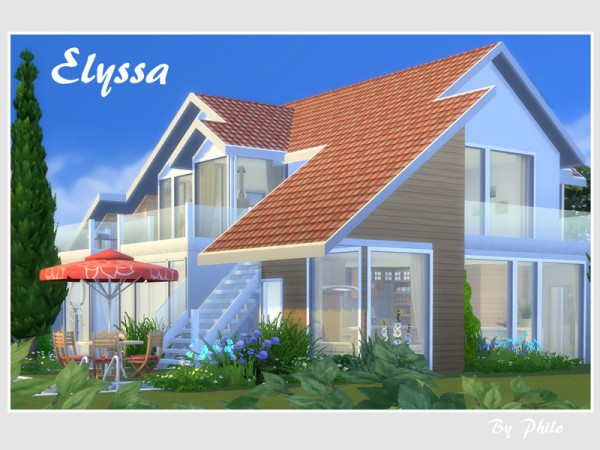 The Sims Resource: Elyssa house (No CC) by philo