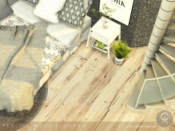 The Sims Resource: Wood Floors 5 by Pralinesims