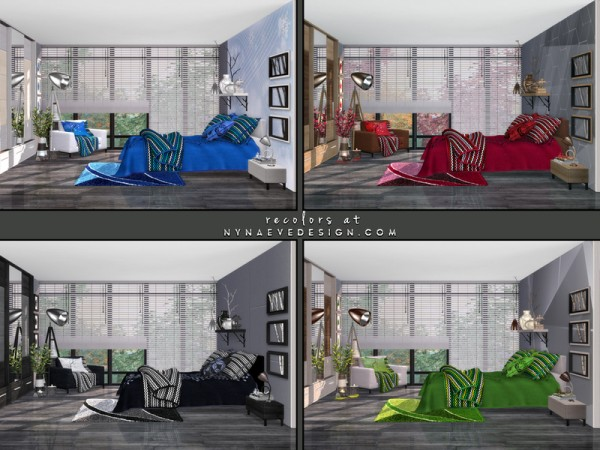 The Sims Resource: Amber Bedroom by NynaeveDesign