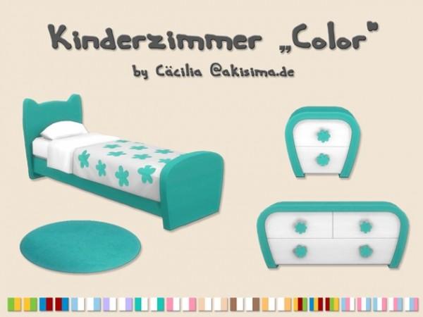 Akisima Sims Blog: Color kidsroom