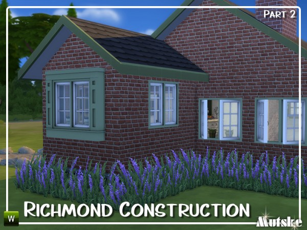 The Sims Resource: Richmond Constructionset Part 2 by mutske