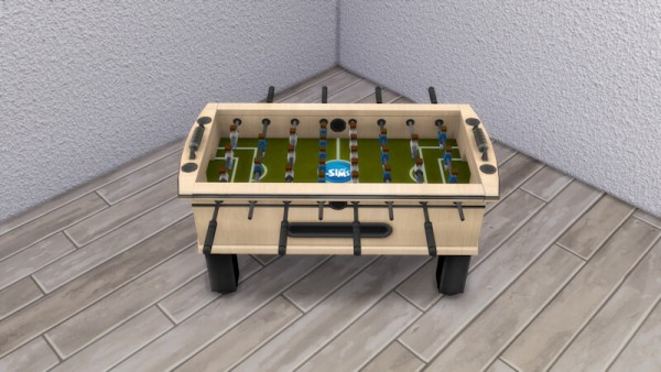 La Luna Rossa Sims: Hot Shot Foosball Table