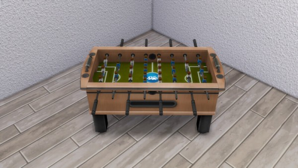 La Luna Rossa Sims: Hot Shot Foosball Table