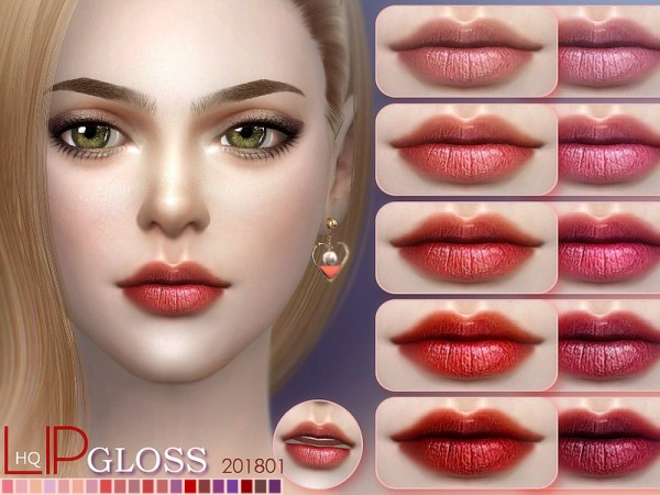 The Sims Resource: Lip 201801 by S Club