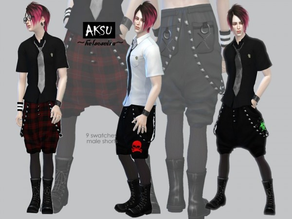 The Sims Resource: AKSU   Shorts by Helsoseira