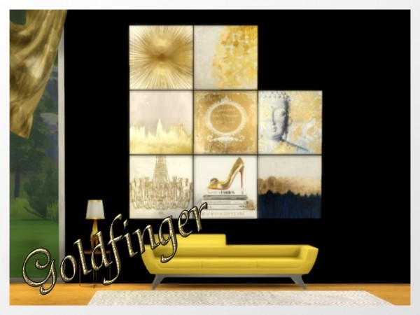 All4Sims: Goldfinger paints by Oldbox