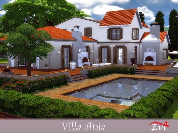 The Sims Resource: Villa Ania by evi