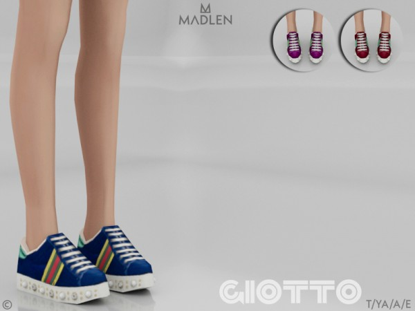 The Sims Resource: Madlen Giotto Shoes by MJ95