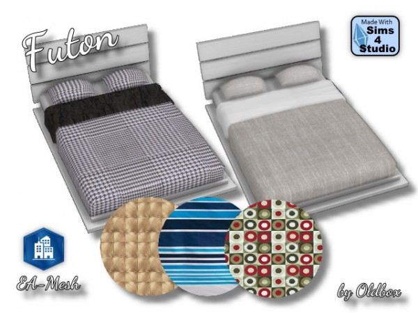 All4Sims: Futton beddings by Oldbox