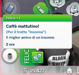 Mod The Sims: Sleepless Trait by Daleko