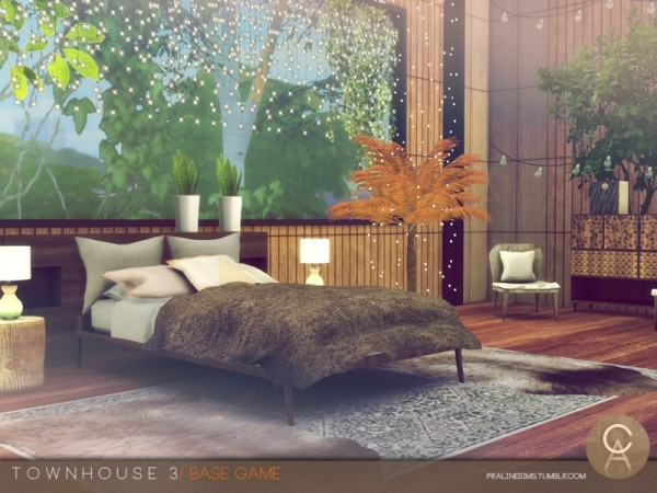 The Sims Resource: Townhouse 3 by Pralinesims