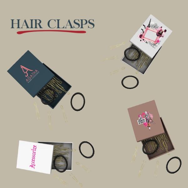 Leo 4 Sims: Hair clasp box