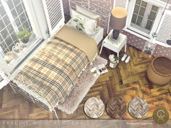 The Sims Resource: Wood Floors 2 by Pralinesims