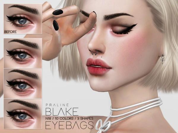 The Sims Resource: Blake Eyebags N18 by Pralinesims