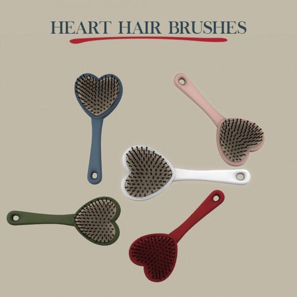 Leo 4 Sims: Heart Hairbrush