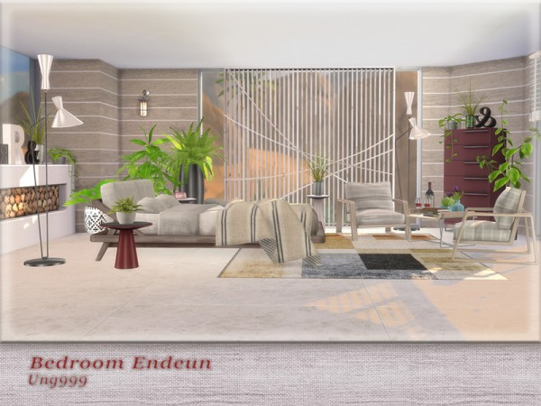 The Sims Resource: Bedroom Endeun by ung999