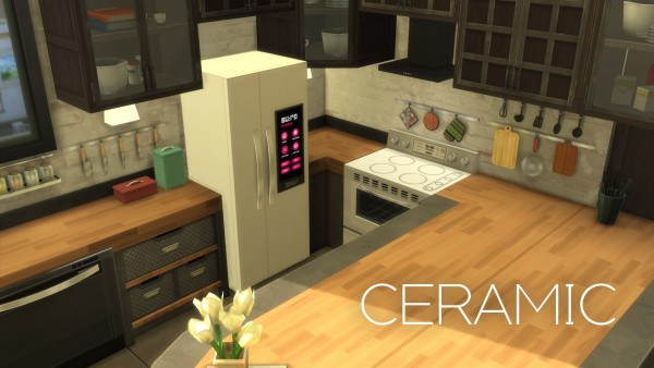 Mod The Sims: H&B Portal   Expensive Refrigerator by littledica