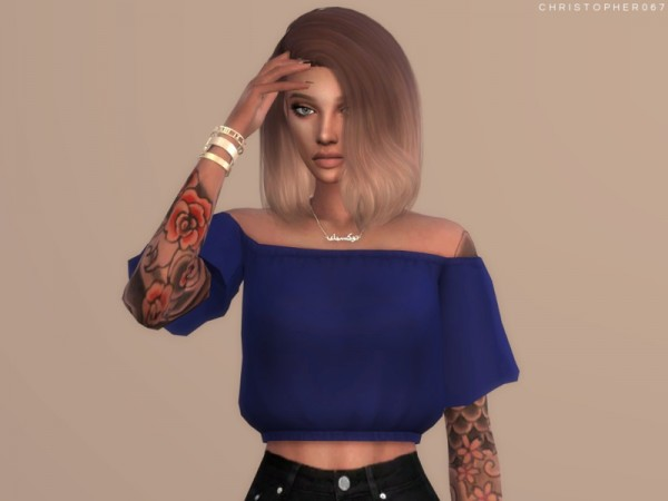 The Sims Resource: Temptress Top by Christopher067