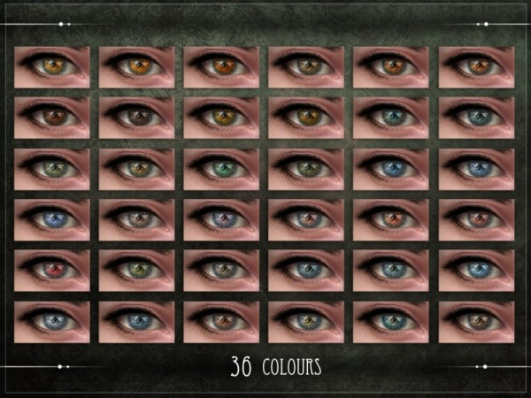 The Sims Resource: Hypoxia Eyes by RemusSirion