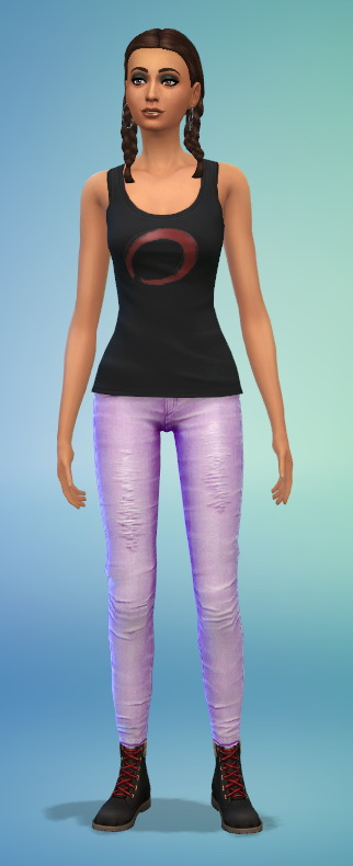 Simsworkshop: Bowling Pants by Fruitcakesimmer