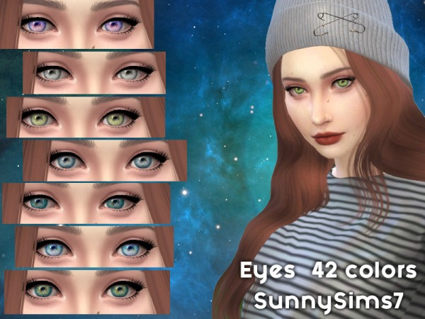 The Sims Resource: Eyes Sims 4 by SunnySims7