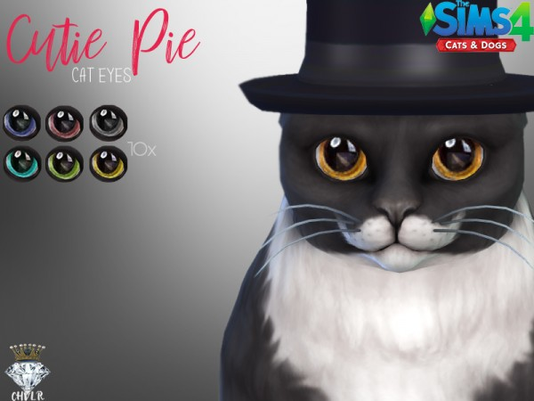 The Sims Resource: Cutie Pie Cat Eyes by MadameChvlr