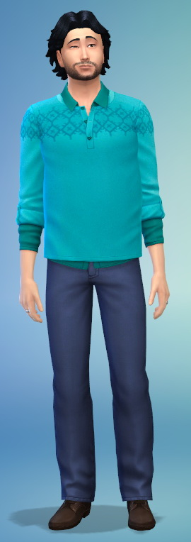 Simsworkshop: Outdoor Unnatural Sweater by Fruitcakesimmer