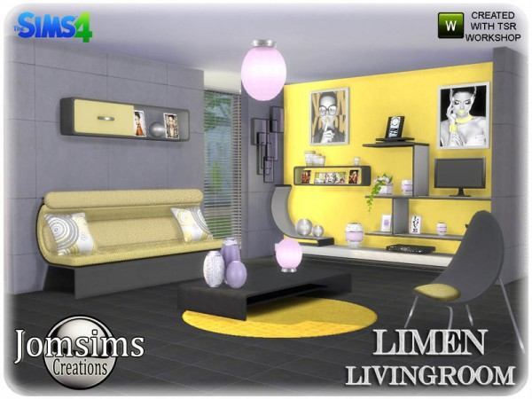 The Sims Resource: Limen Livingroom by jomsims