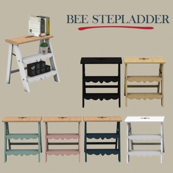 Leo 4 Sims: Bee Stepladder