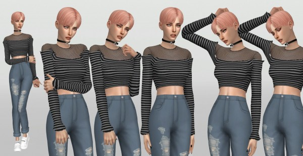 Simsworkshop: Stylenanda Model Poses by catsblob