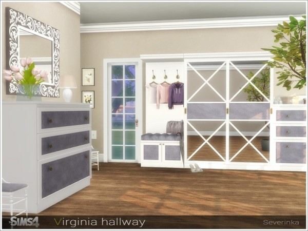 The Sims Resource: Virginia hallway by Severinka
