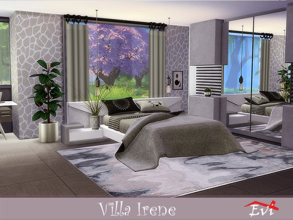 The Sims Resource: Irene Villa by evi