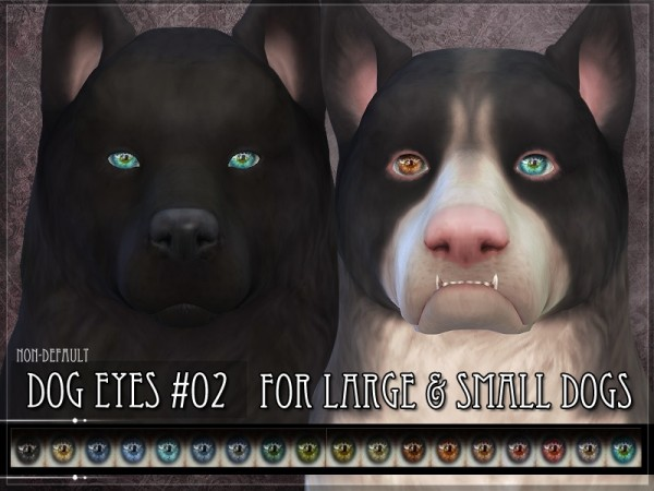 The Sims Resource: Dog Eyes 02   Set by RemusSirion
