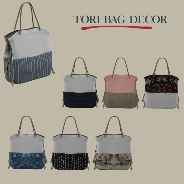 Leo 4 Sims: Tori Bag Decor