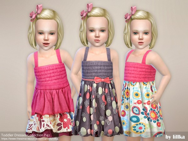 The Sims Resource: Toddler Dresses Collection P42 by lillka