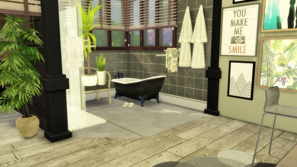 Sims Artists: Green Addict Master Bedroom