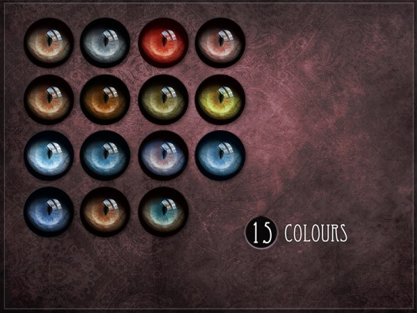 The Sims Resource: Cat Eyes 02 by RemusSirion