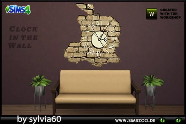 Blackys Sims 4 Zoo: Clock in the Wall by sylvia60