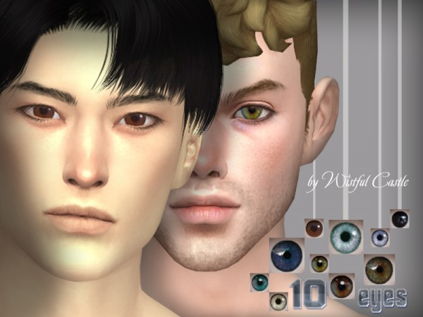 The Sims Resource: 10 eyes by WistfulCastle