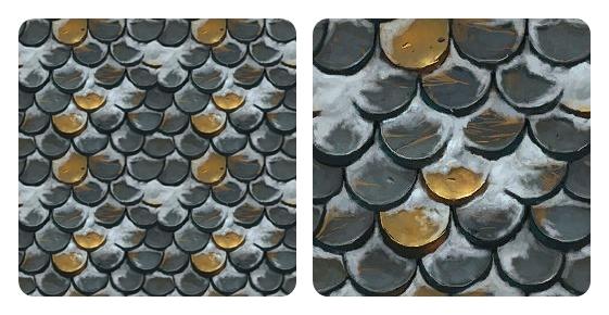 Helen Sims: Roof Tiles 01
