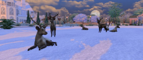 Mod The Sims: Big Antlers by TheKalino
